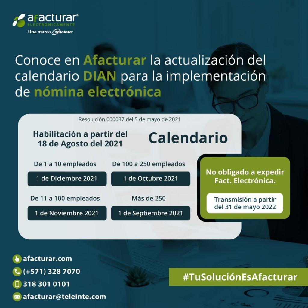 calendario-implementacion-nomina-electronica-afacturar